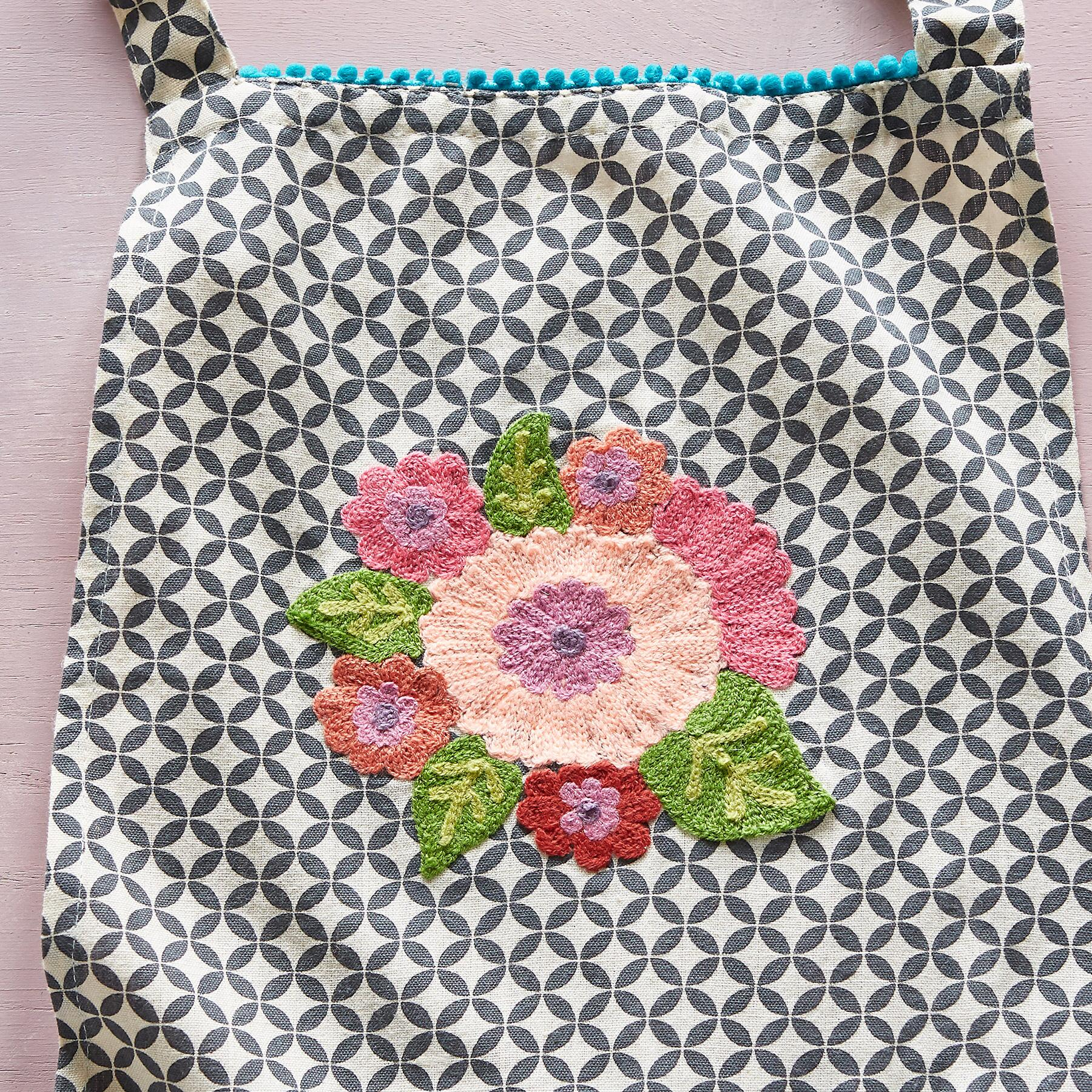 WHIMSY EMBROIDERED APRON: View 3