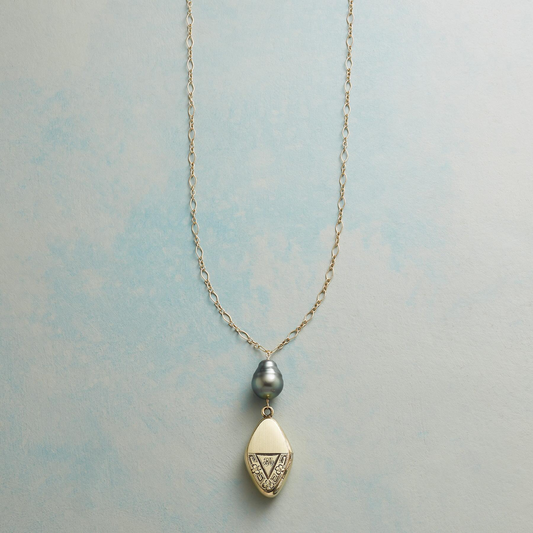 SAMANTHA HEIRLOOM LOCKET NECKLACE: View 1