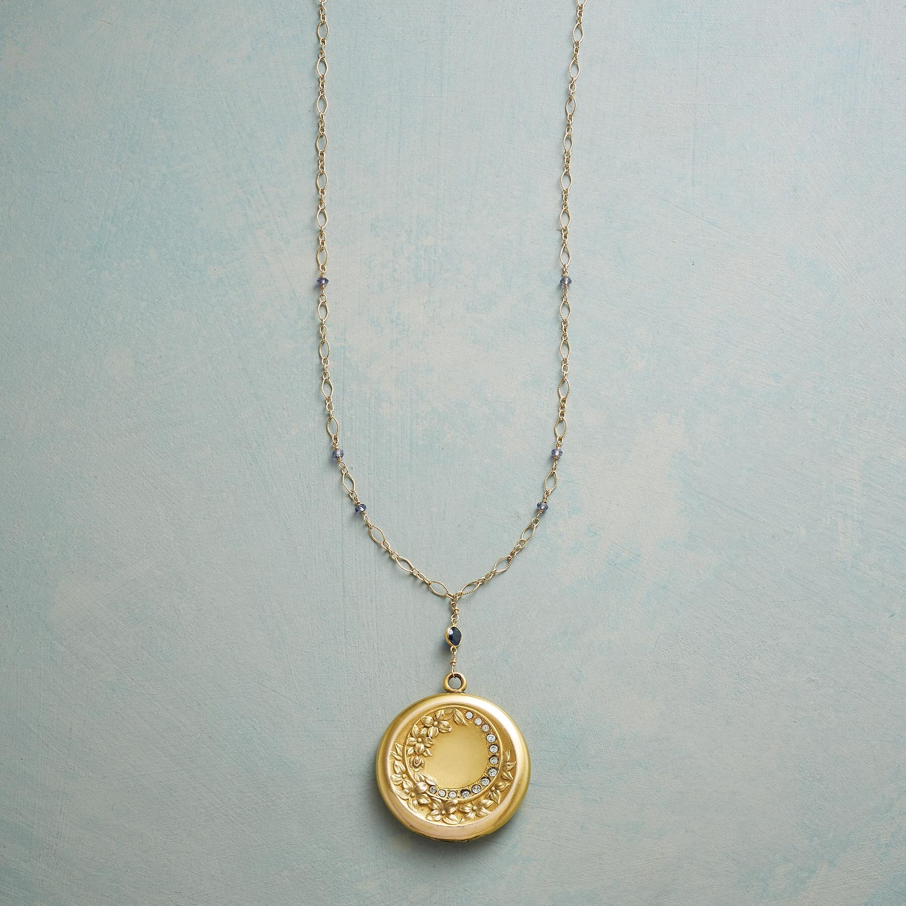 ISABELLE HEIRLOOM LOCKET NECKLACE: View 1