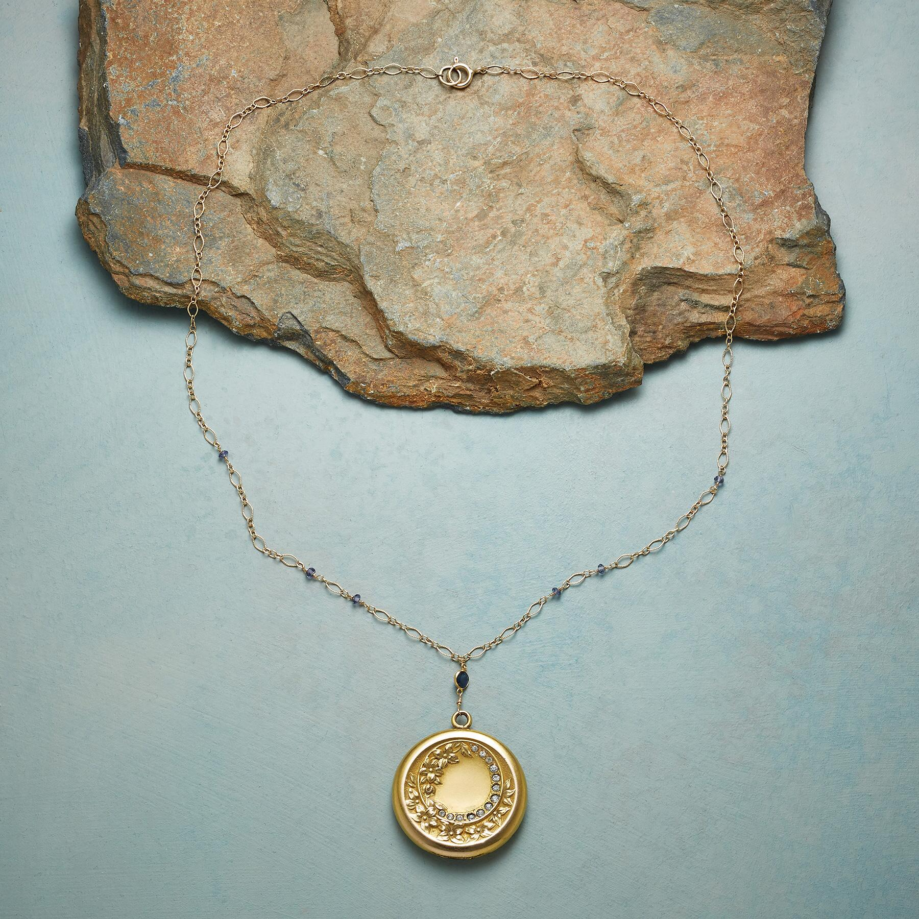 ISABELLE HEIRLOOM LOCKET NECKLACE: View 2