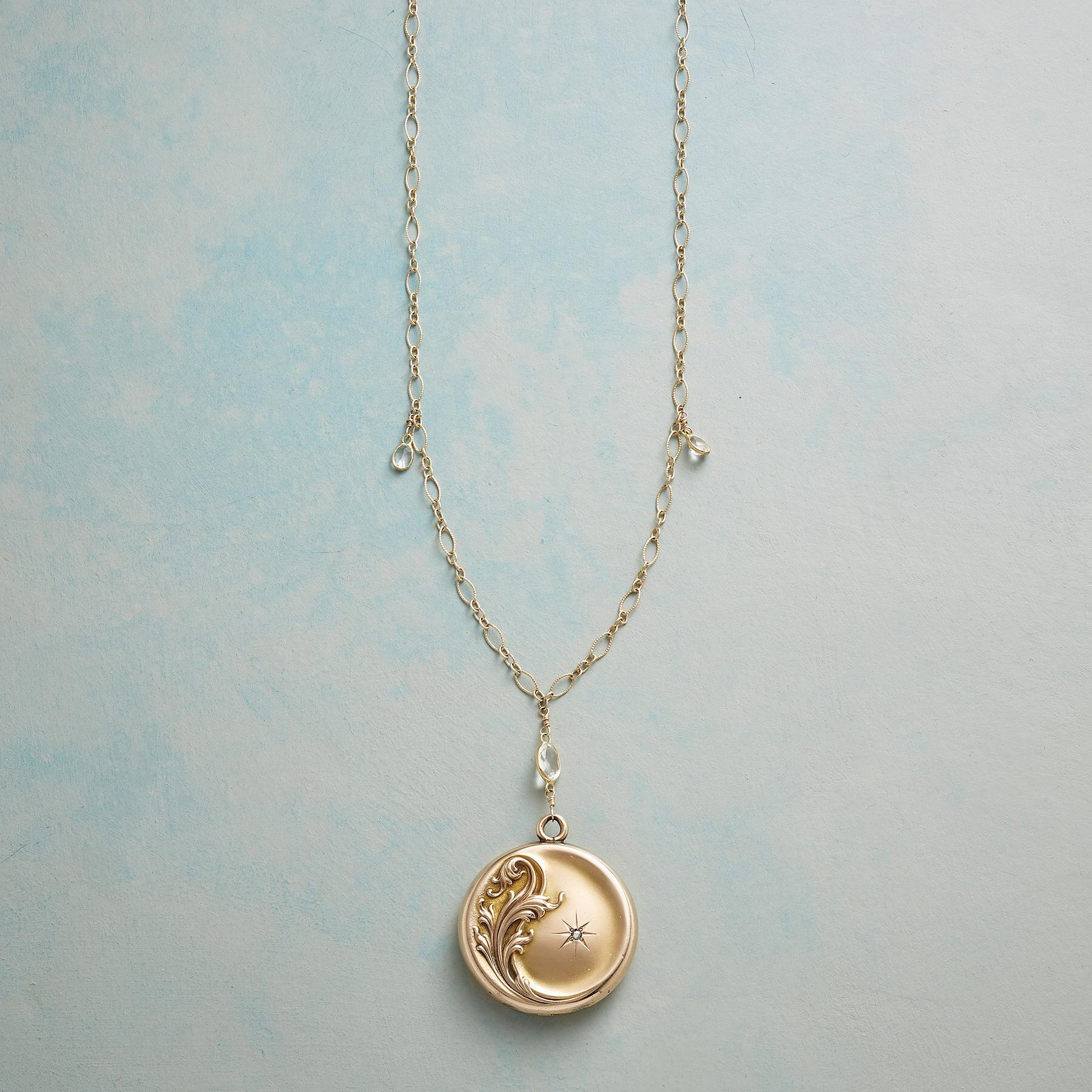LETITIA HEIRLOOM LOCKET NECKLACE: View 1