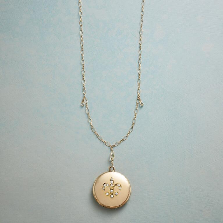 CLARA HEIRLOOM LOCKET NECKLACE