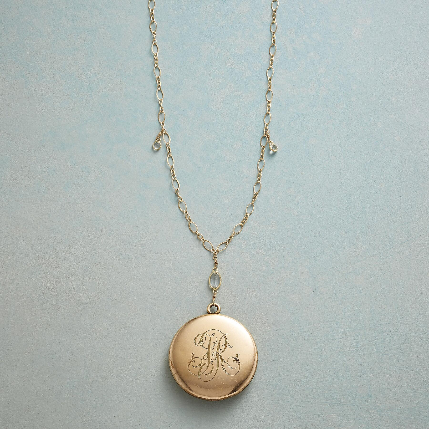 CLARA HEIRLOOM LOCKET NECKLACE: View 3