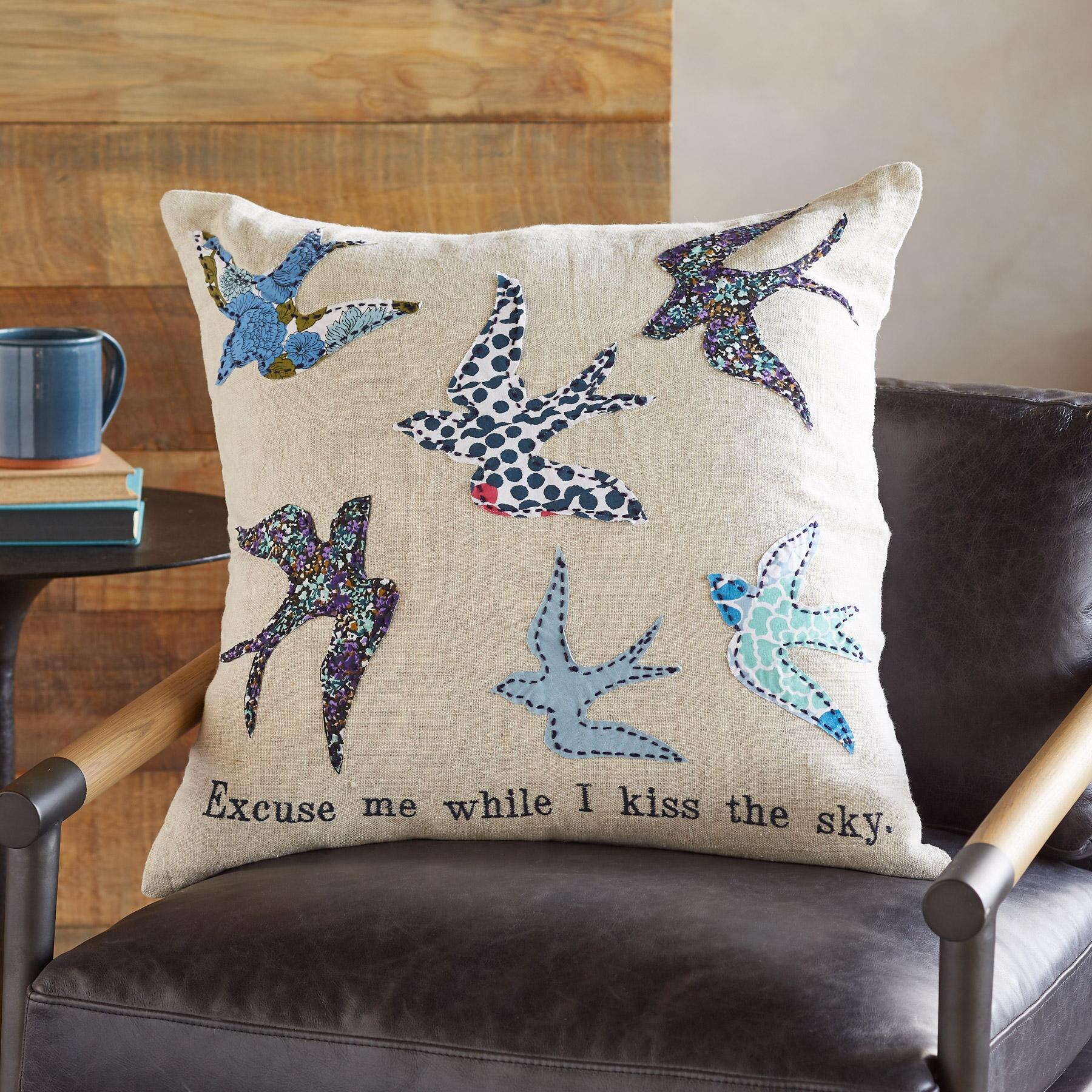 KISS THE SKY PILLOW: View 1