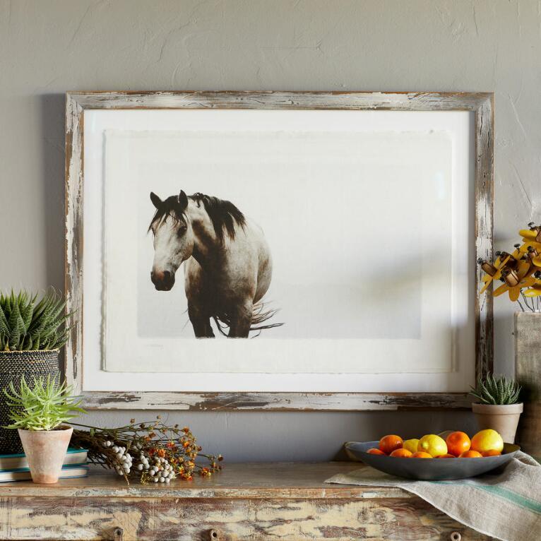 MAHARRY PENSIVE HORSE PRINT