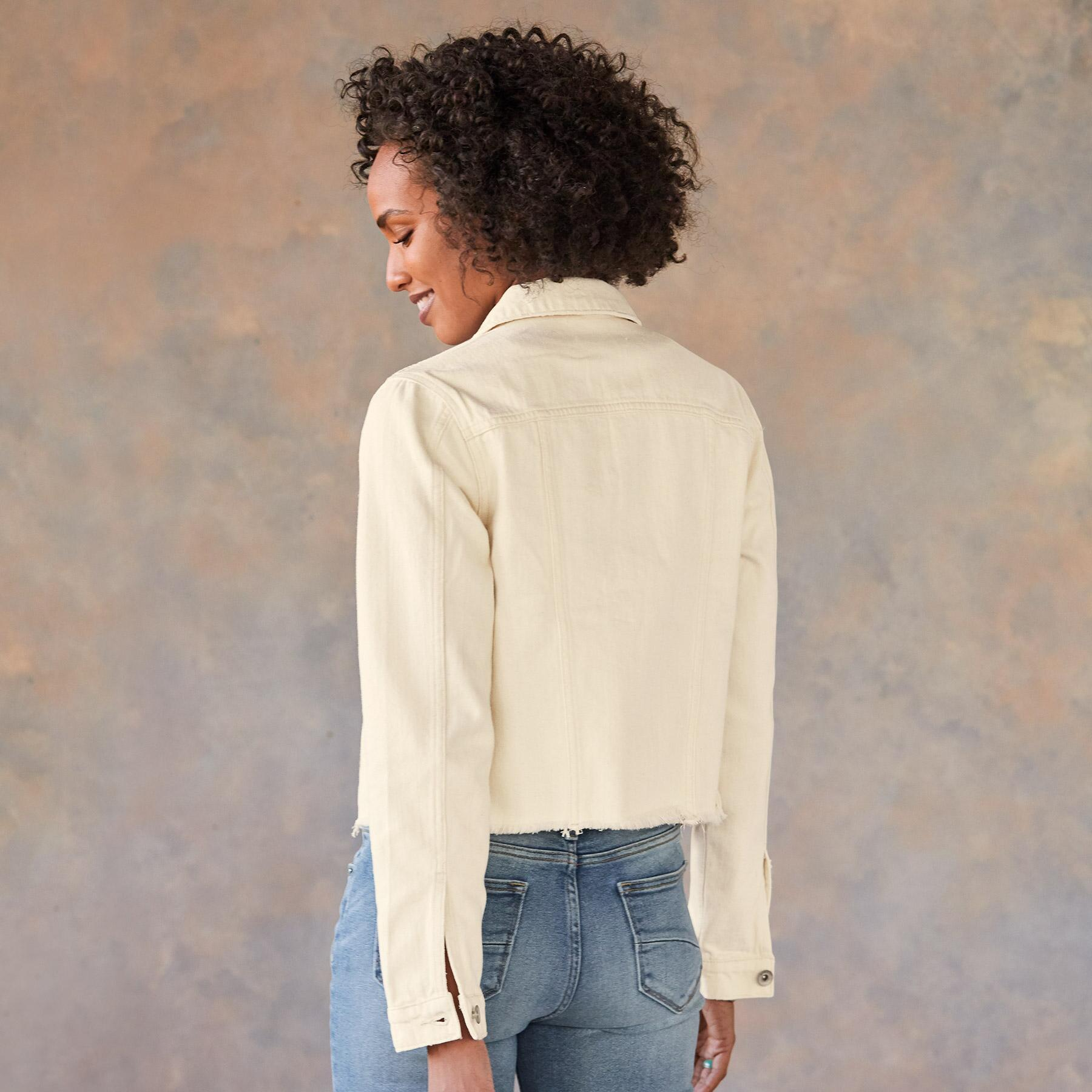 AINSLEY CROP JACKET: View 2