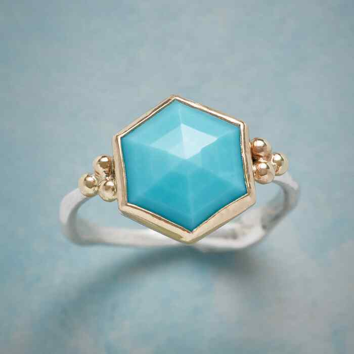 TURQUOISE UMBRELLA RING