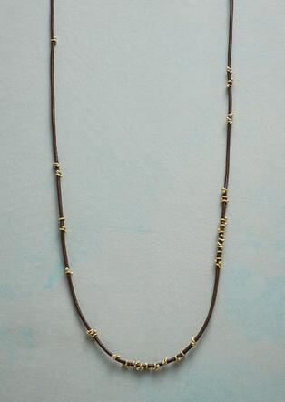 TWISTS OF GOLD NECKLACE