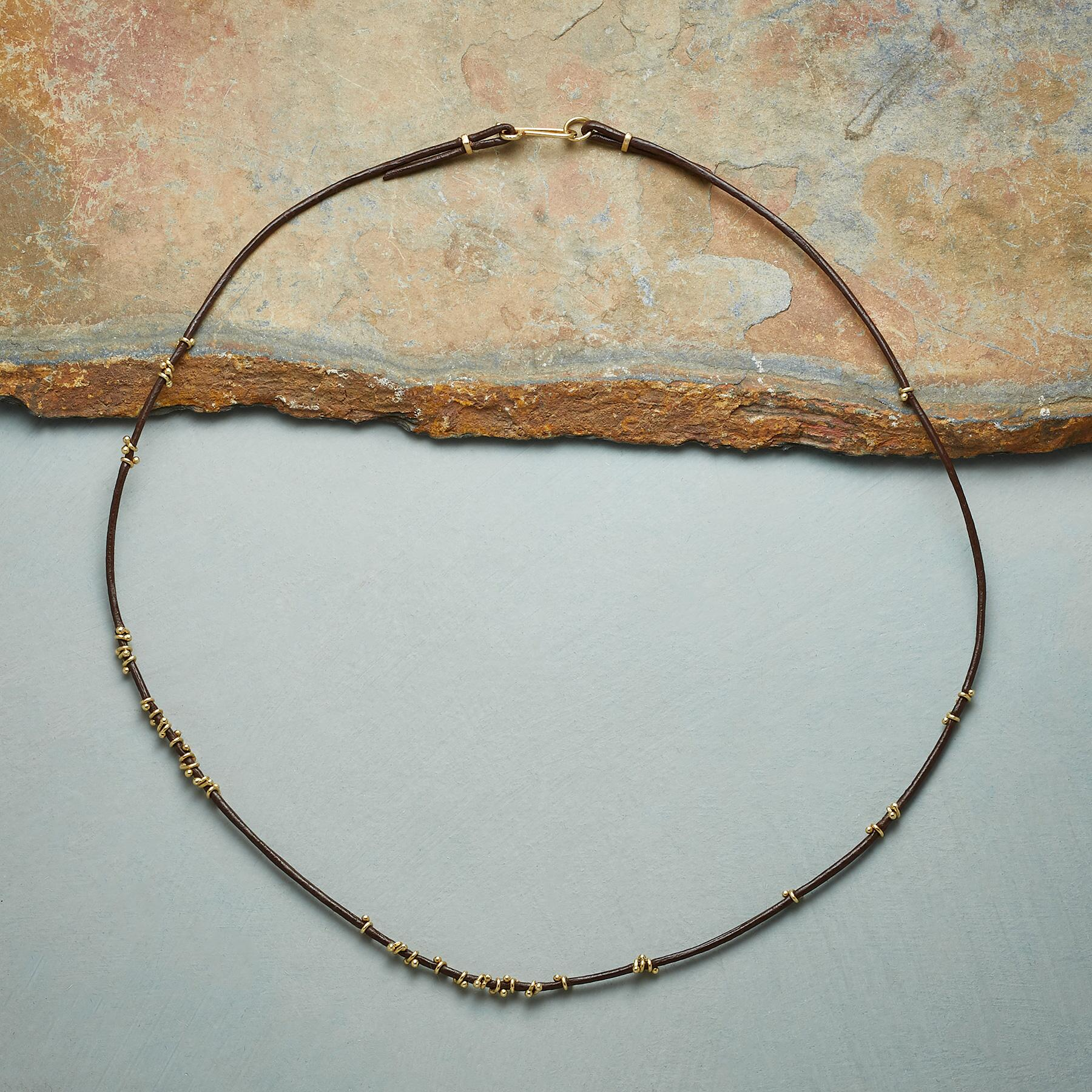 TWISTS OF GOLD NECKLACE: View 2