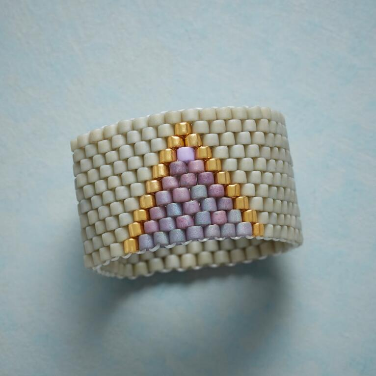 WOVEN GEOMETRY RING