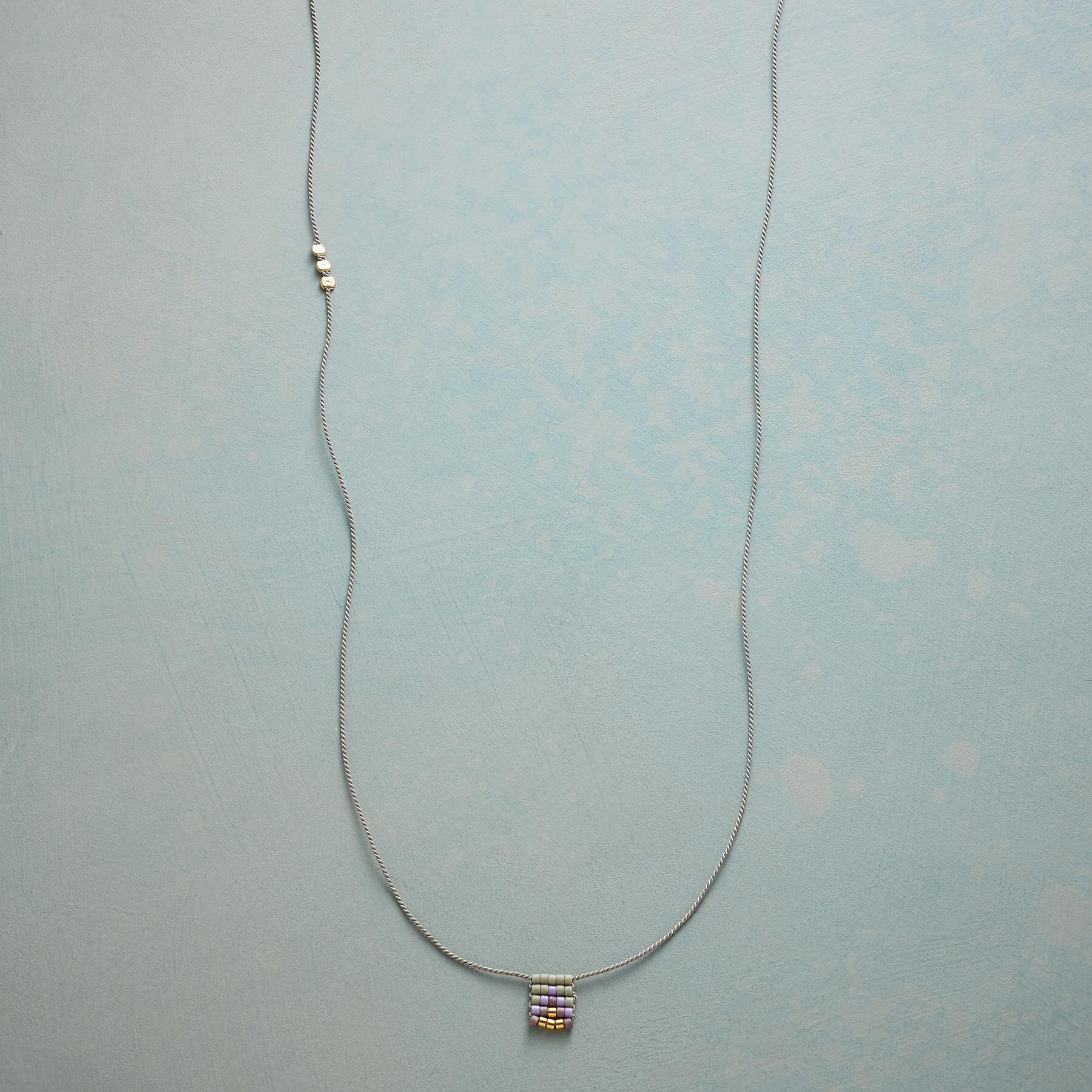 WOVEN GEOMETRY NECKLACE: View 1