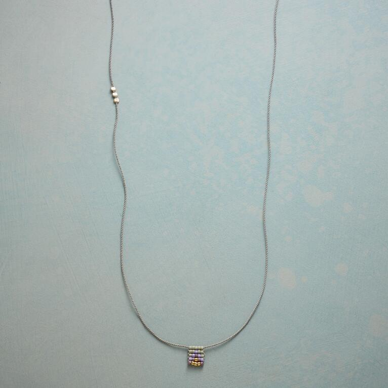 WOVEN GEOMETRY NECKLACE
