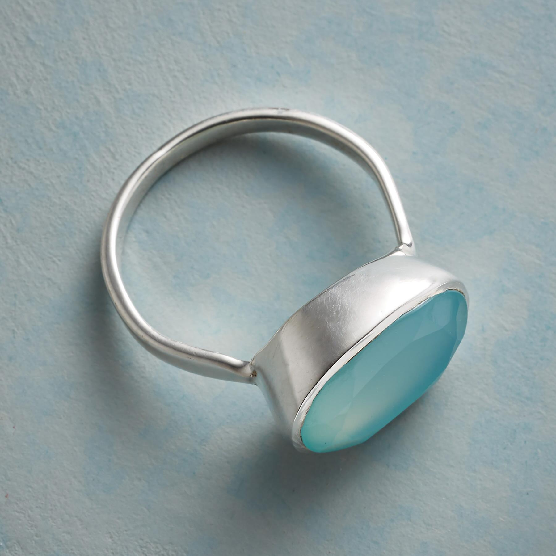 CLEARLAKE CHALCEDONY RING: View 2