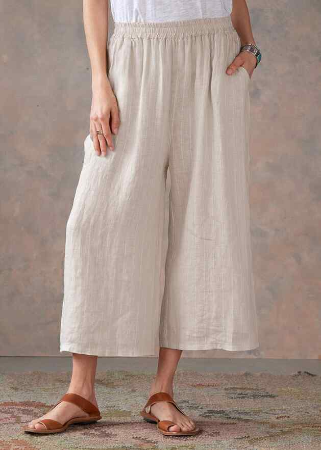 BOARDWALK LINEN CULOTTES