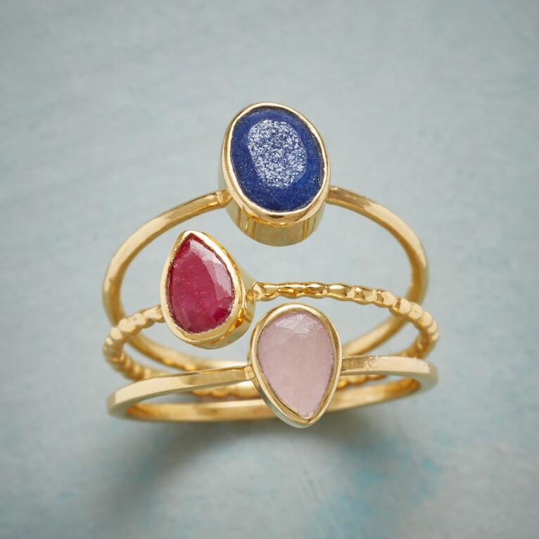 THREE OF A KINDNESS RING TRIO