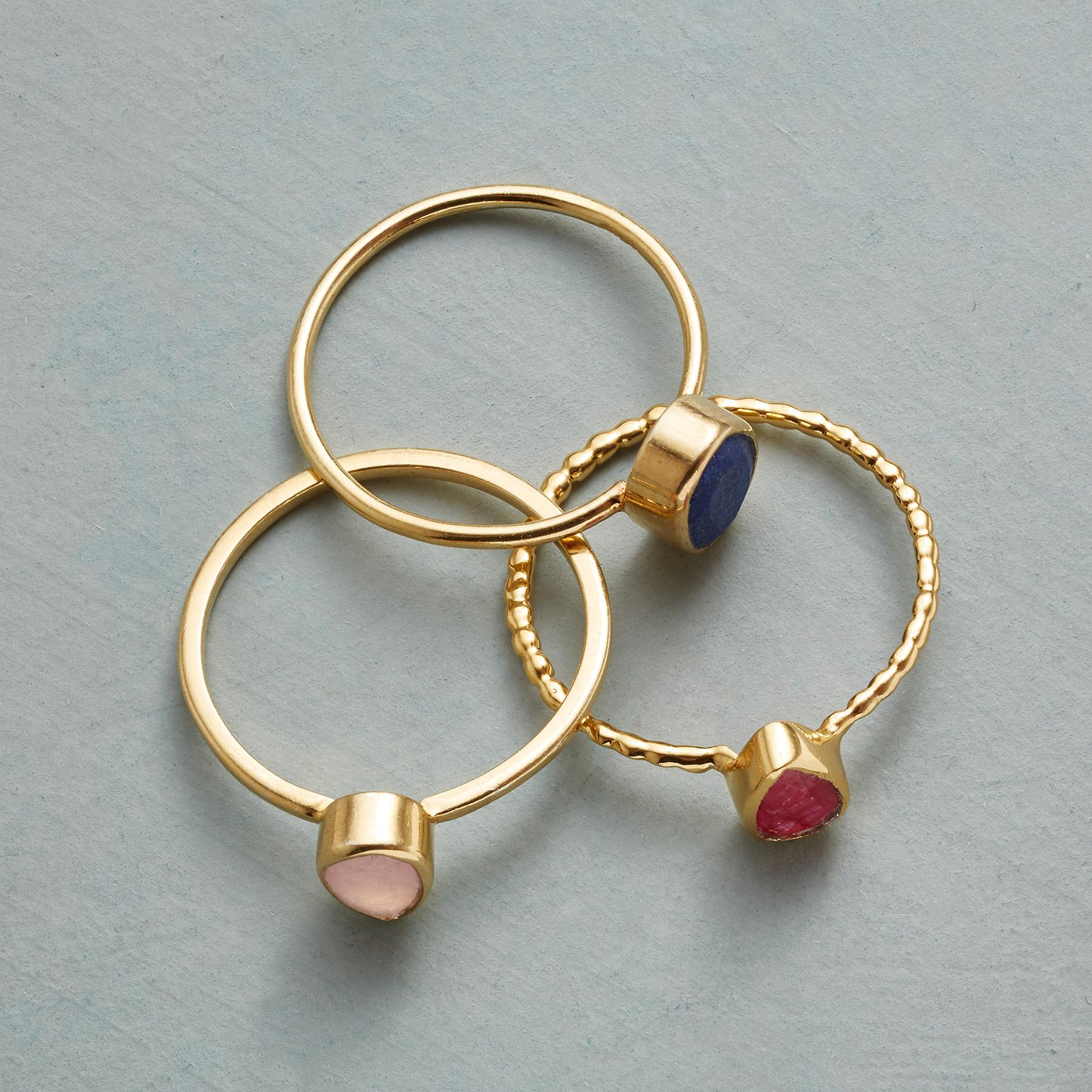 THREE OF A KINDNESS RING TRIO: View 2