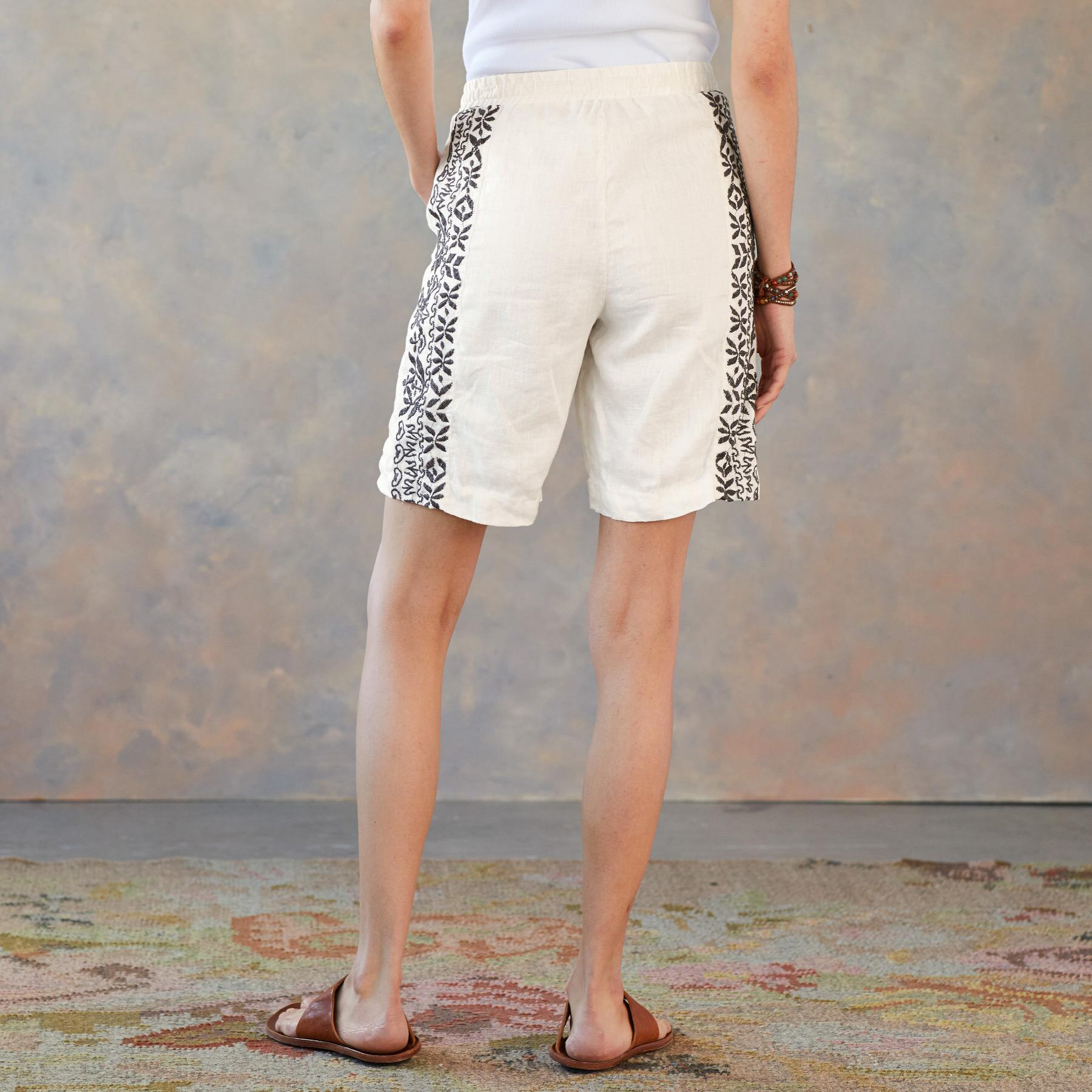 GEOFFREY LINEN SHORTS: View 2