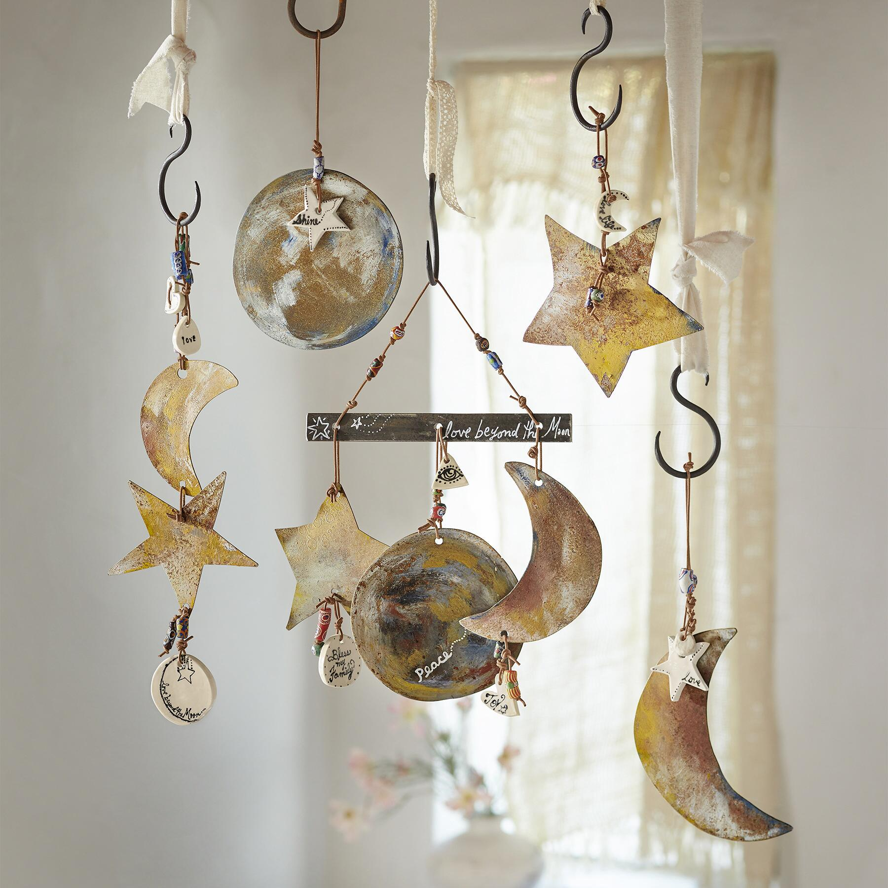MOON PHASE HANGING ART: View 2