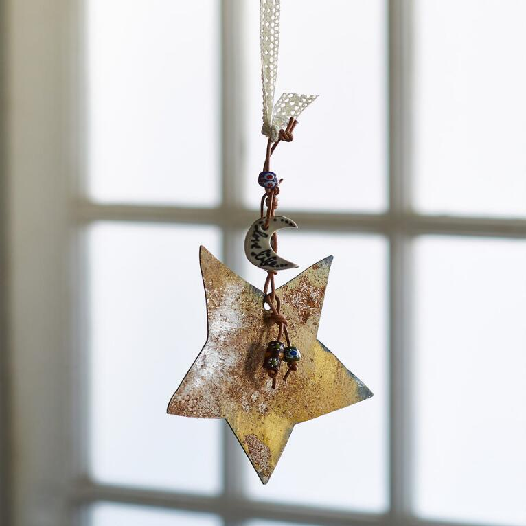 SHOOTING STAR HANGING ART