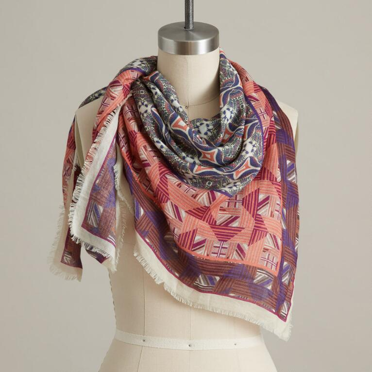 SECRET COURTYARD SCARF