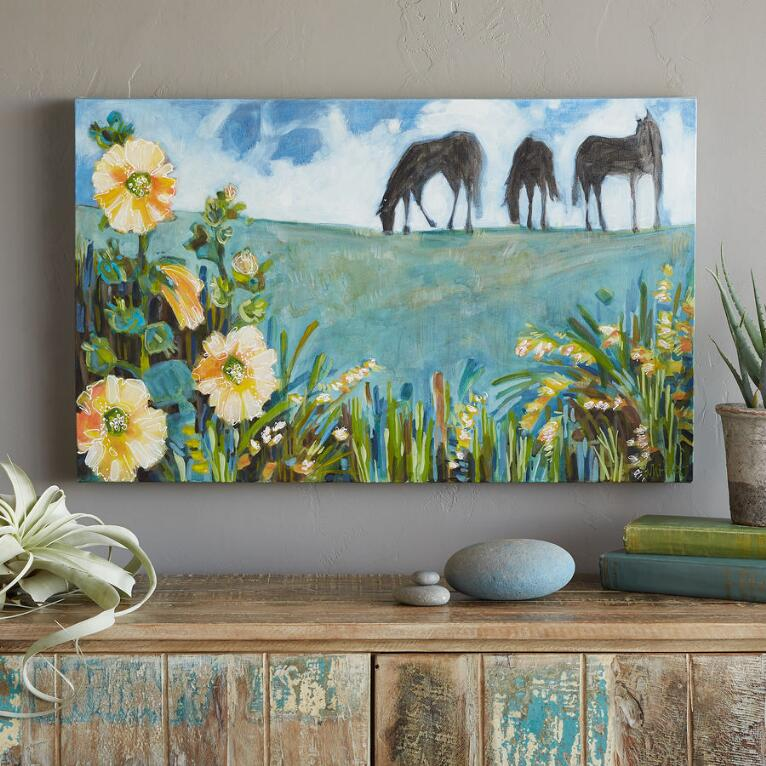 SUMMER GRAZING PAINTING