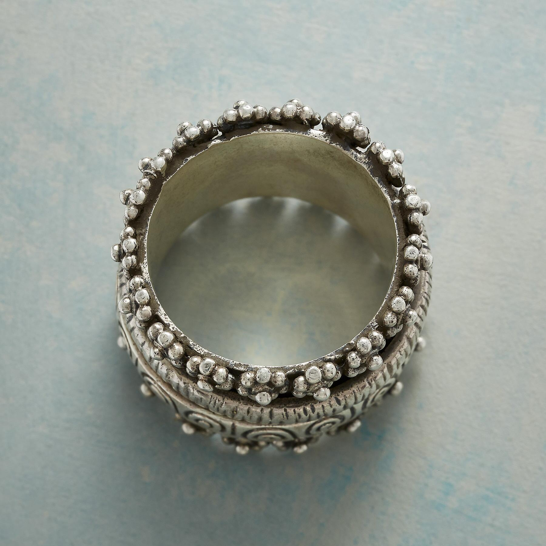 GARDEN PATH SPINNER RING: View 2