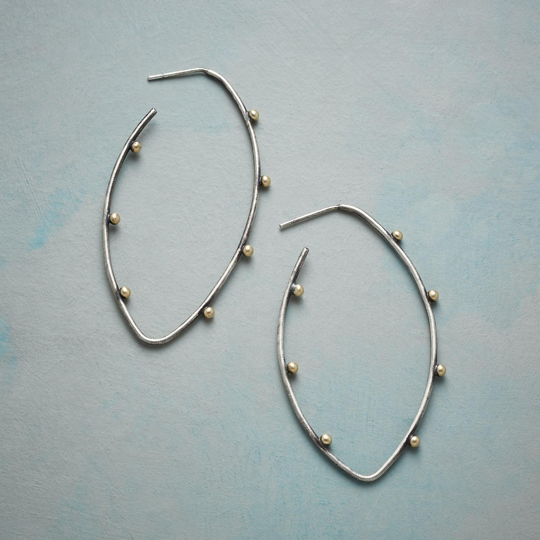 COUNTING THE DAYS HOOP EARRINGS: View 1