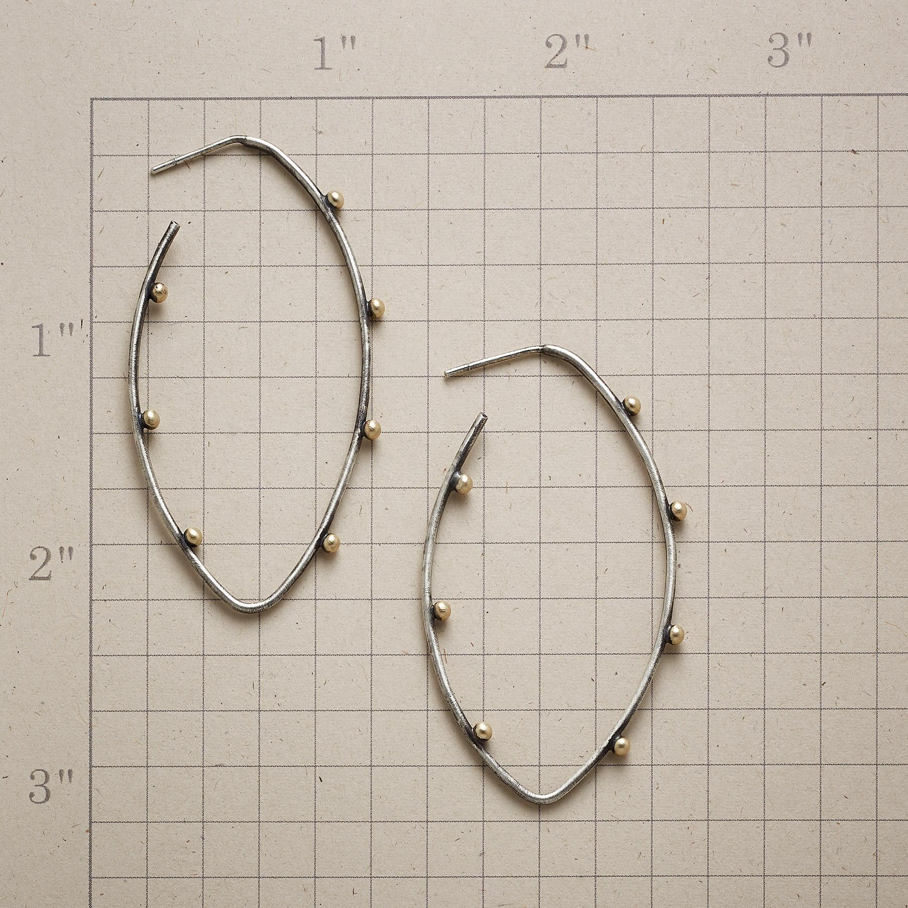 COUNTING THE DAYS HOOP EARRINGS: View 2