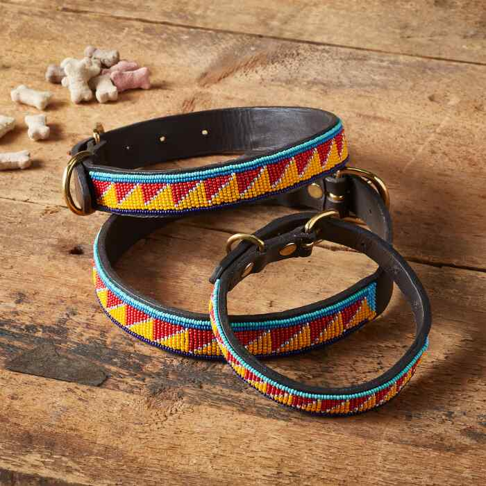 MAASAI DOG COLLAR