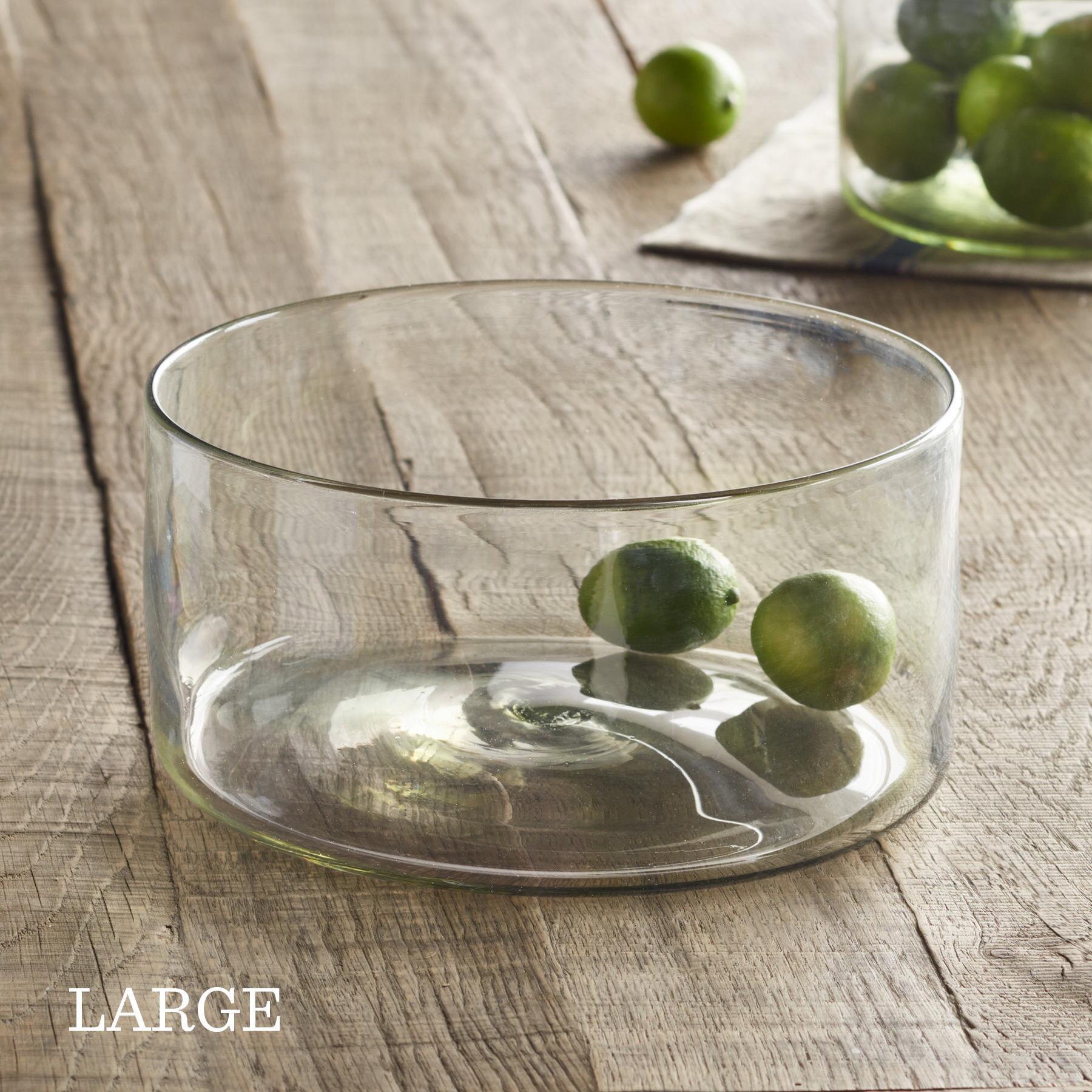 GLASS SALAD BOWL: View 3