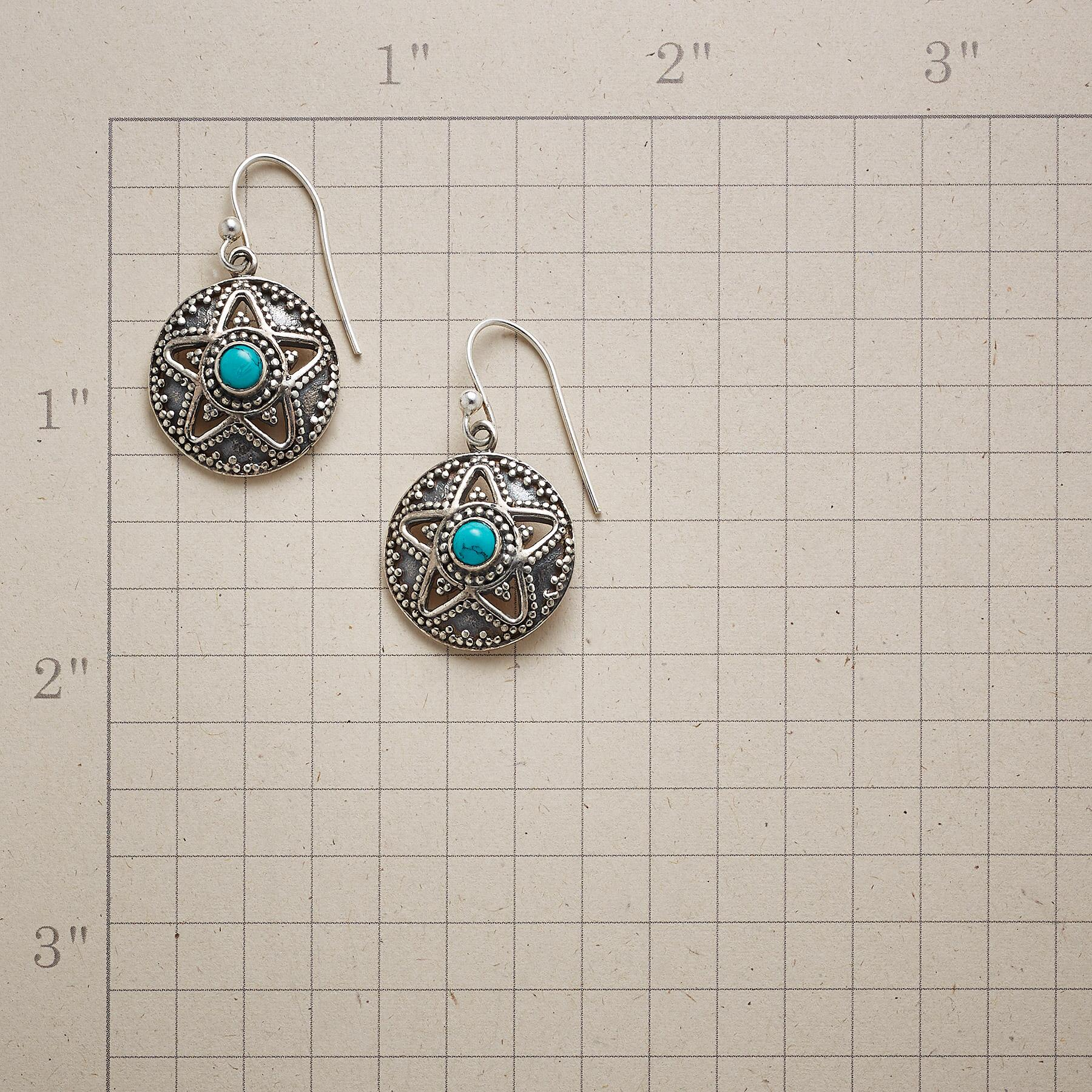 SUPERSTAR TURQUOISE EARRINGS: View 2