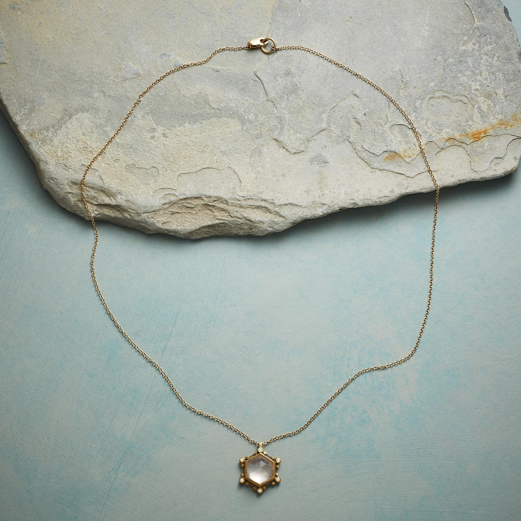 ROSE QUARTZ SUNBEAMS NECKLACE: View 2