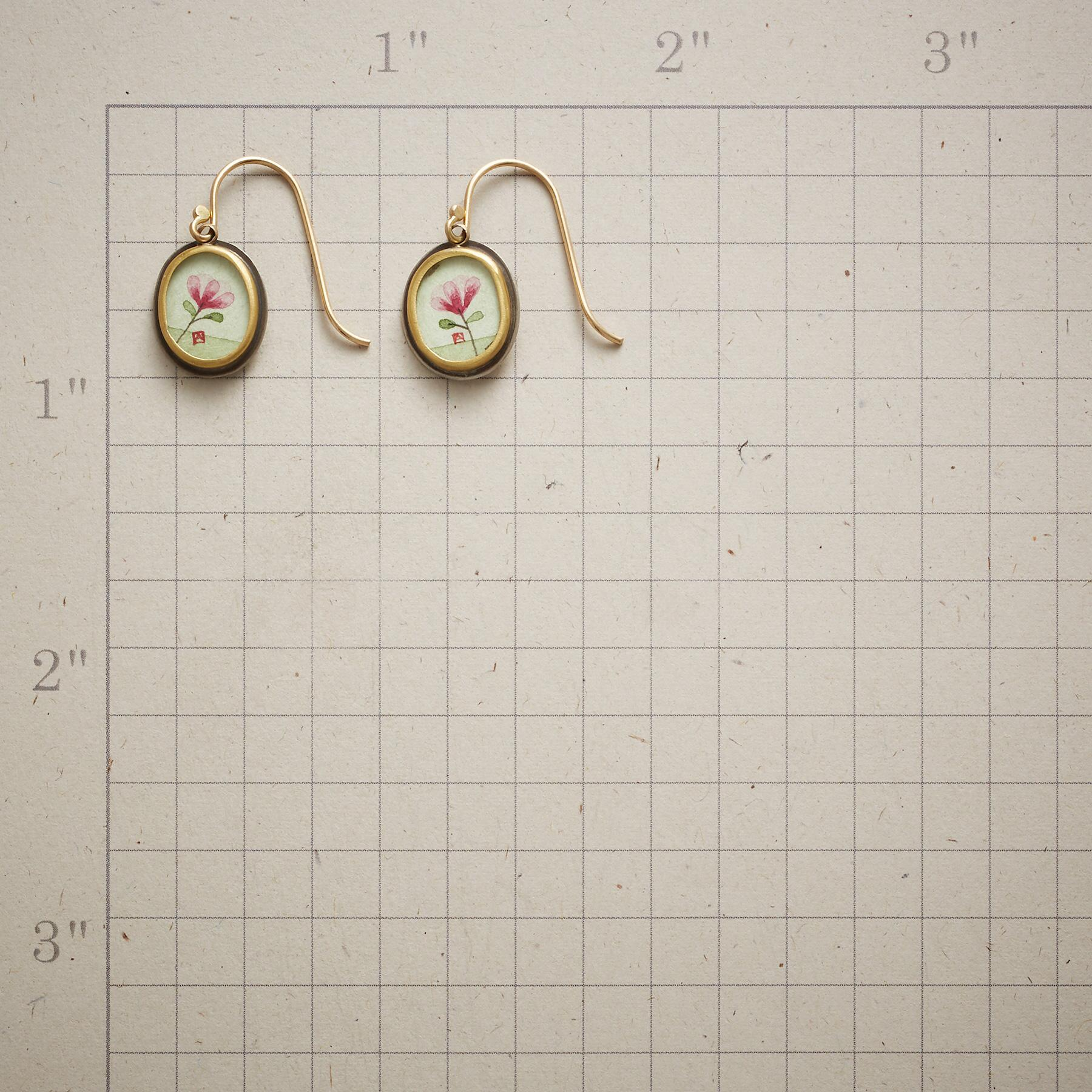MAGNOLIA BLOSSOM EARRINGS: View 2