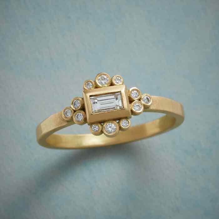 BEVY OF DIAMONDS RING