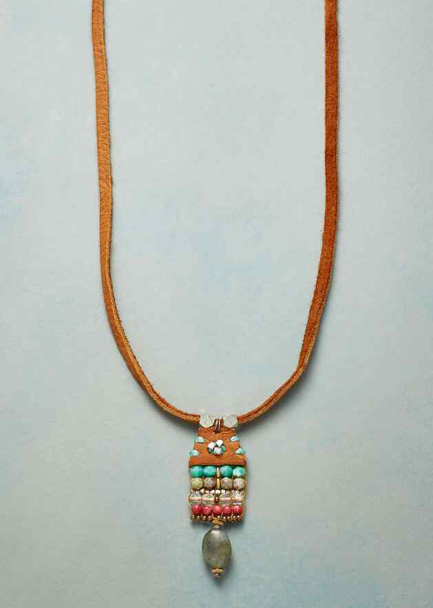 BEADED TAPESTRY NECKLACE