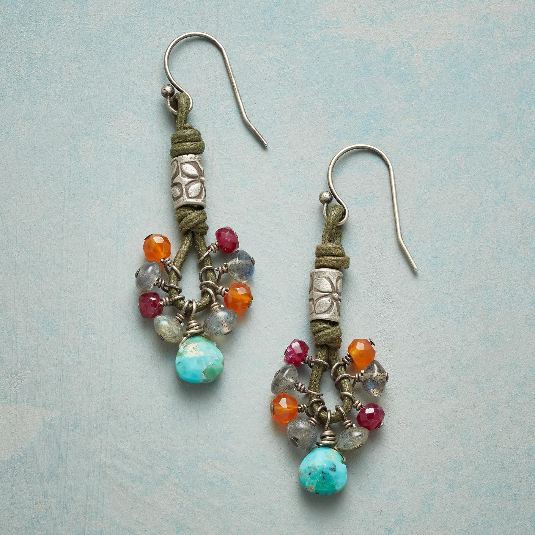 TOUCH OF TIKI EARRINGS: View 1