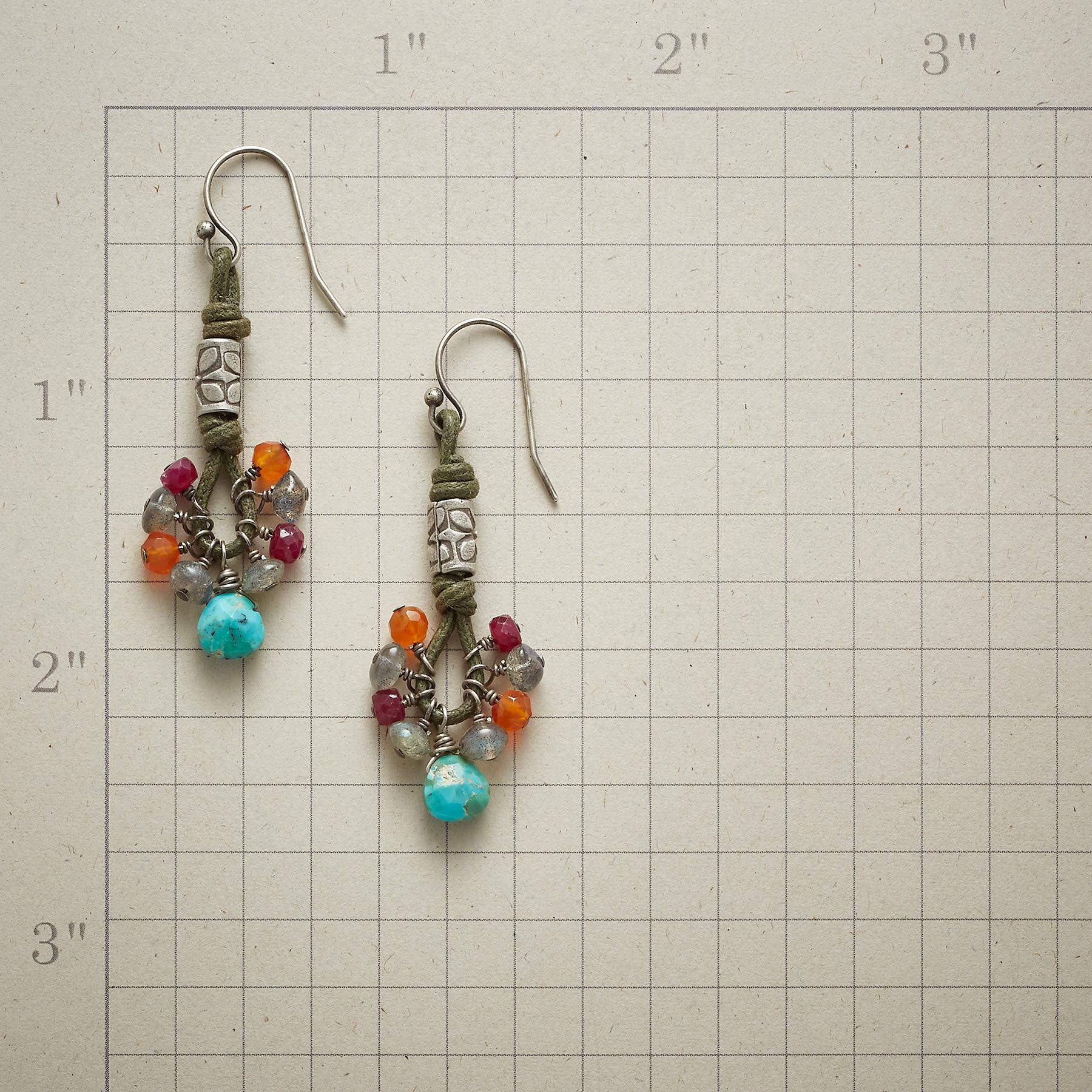 TOUCH OF TIKI EARRINGS: View 2