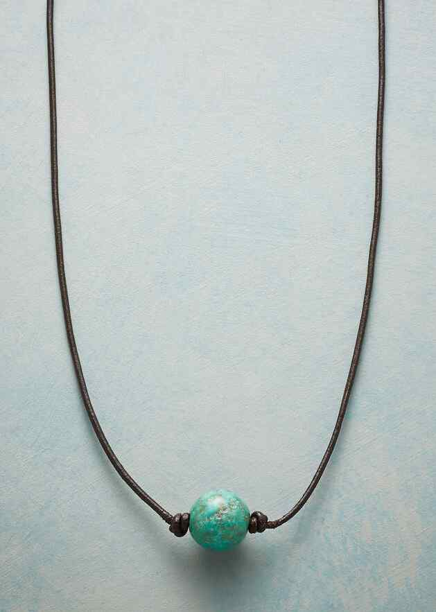 VISUALIZE PEACE NECKLACE