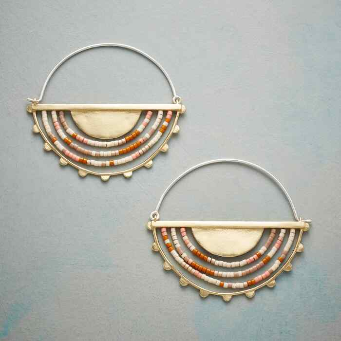 SOUTHERN SUN HOOP EARRINGS