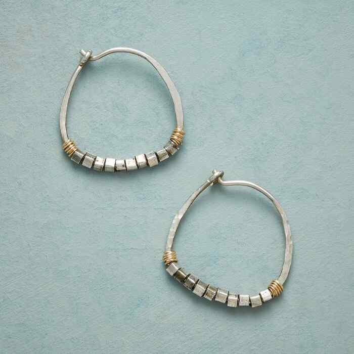 HALF A HOOP EARRINGS