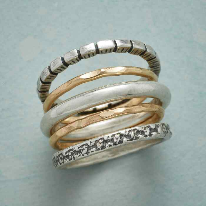 INCLUSIVITY STACKING RINGS