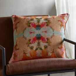 PAPILLON LINEN PILLOW
