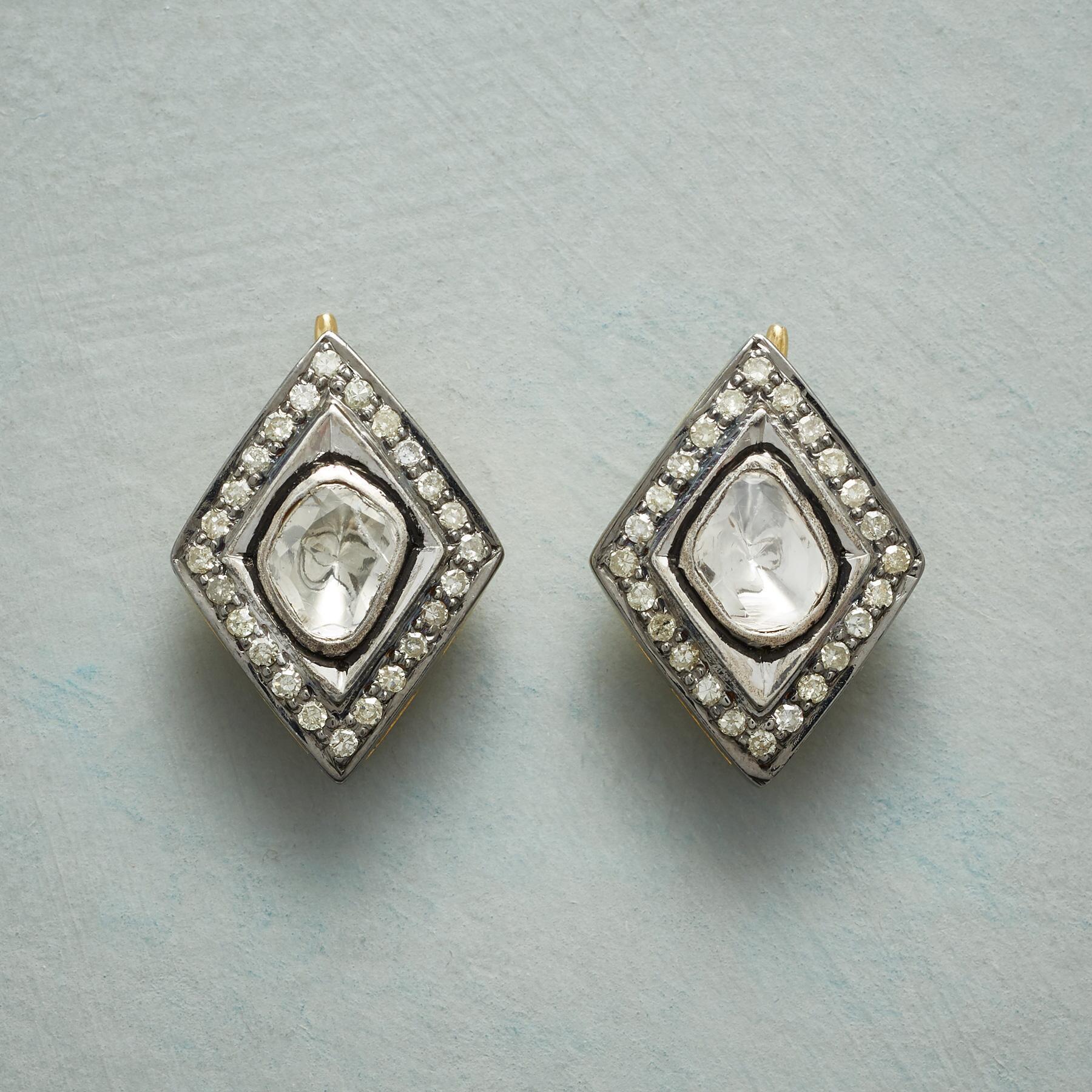 DIAMOND THREE WAYS EARRINGS: View 1