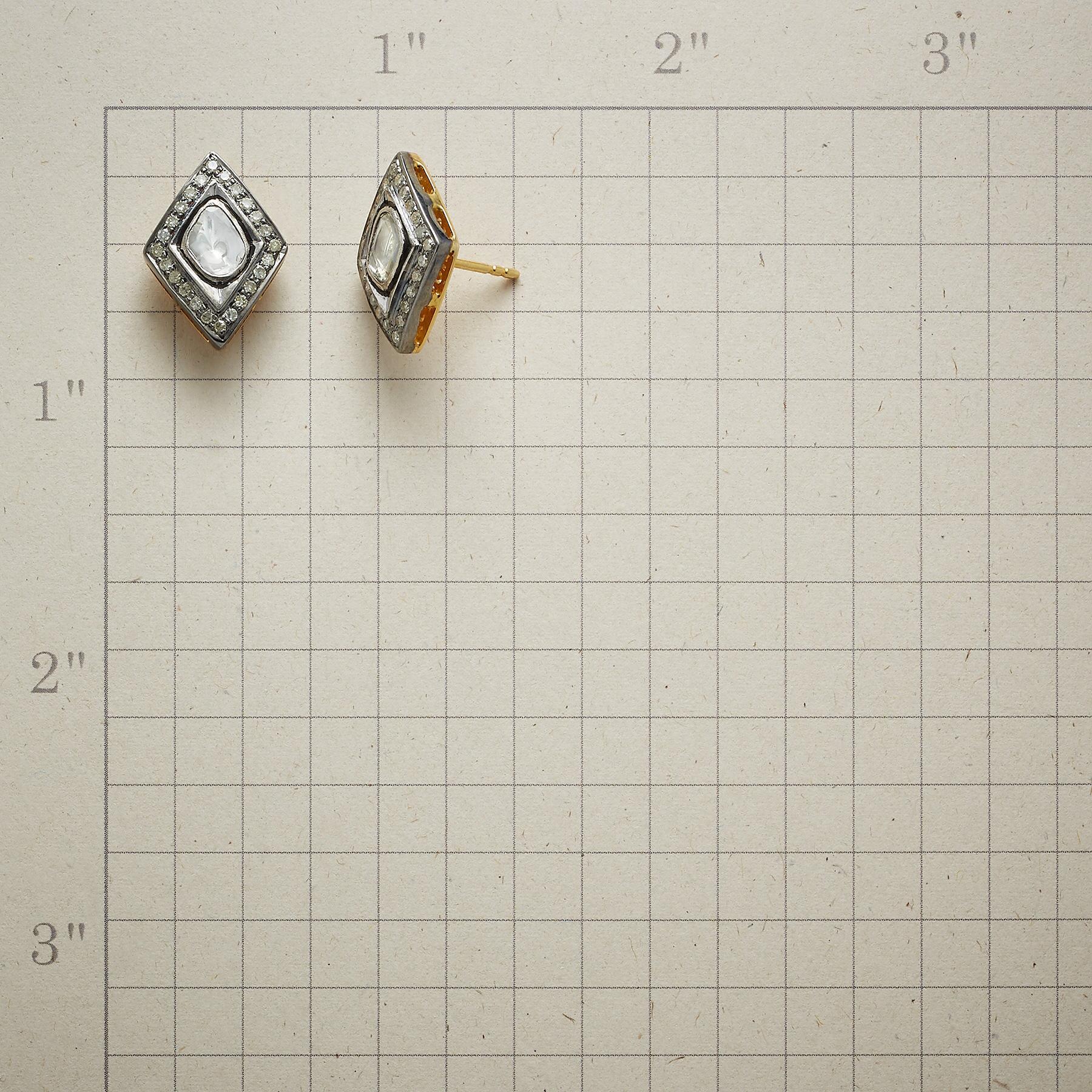 DIAMOND THREE WAYS EARRINGS: View 2