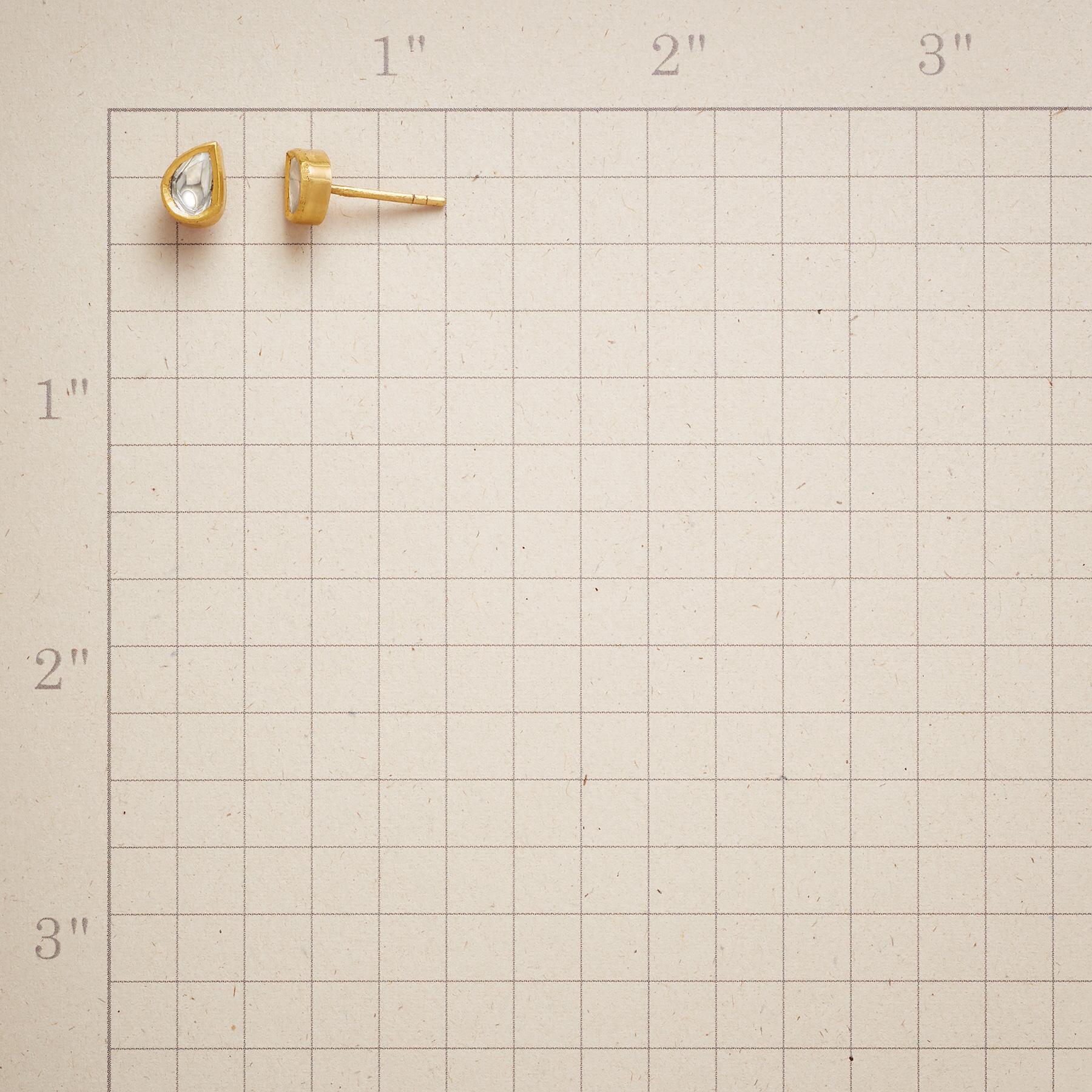 POLKI DIAMOND DEWDROP EARRINGS: View 2