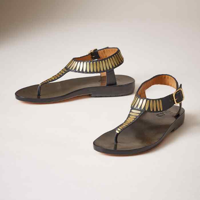 CLEO STUDDED SANDALS