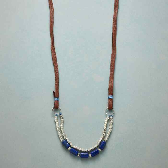 TRUE TO BLUE NECKLACE