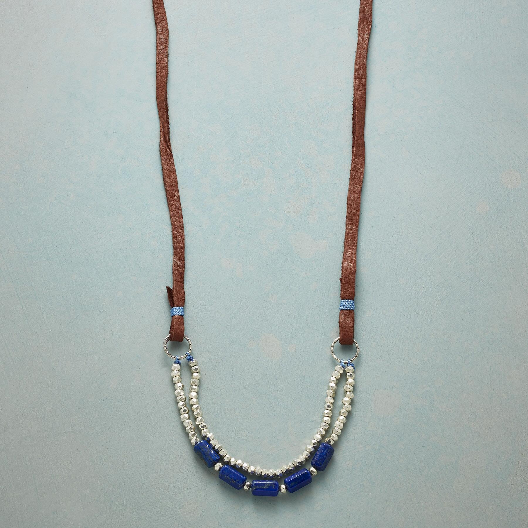 TRUE TO BLUE NECKLACE: View 1