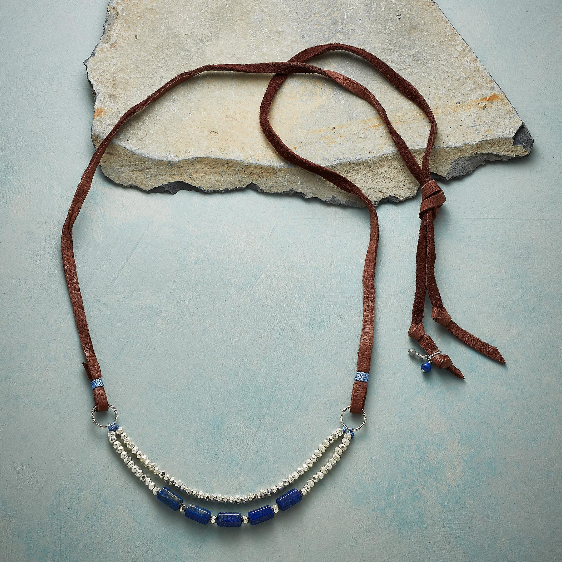 TRUE TO BLUE NECKLACE: View 2