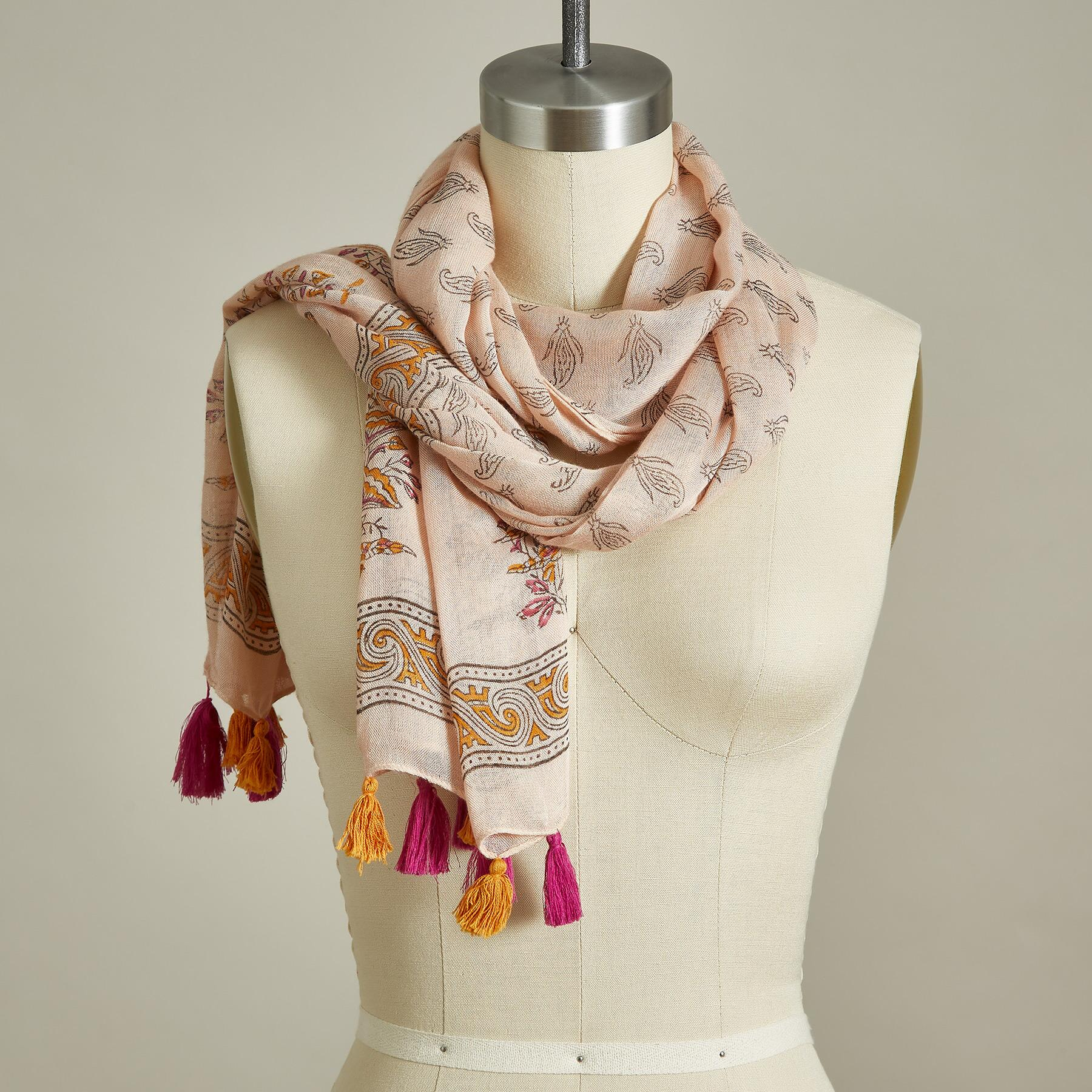 PEACH PERFECTION SCARF: View 1